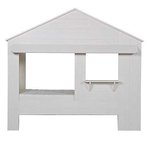 lounge-zone Hüttenbett-Spielbett HUISIE weiß