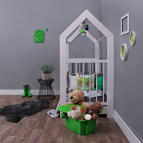 KAGU 5906395798452 Kinder Innovatives und Abenteuerbett Hausbett für jedes Kinderzimmer, weiß - 2
