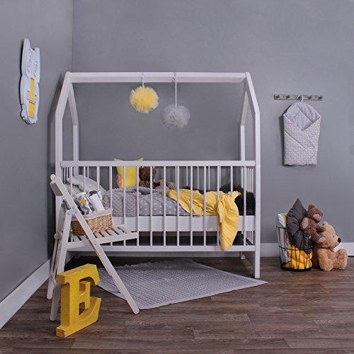 KAGU 5906395798452 Kinder Innovatives und Abenteuerbett Hausbett für jedes Kinderzimmer, weiß - 4