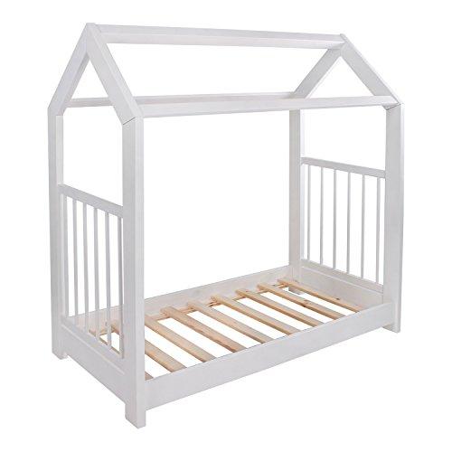 KAGU 5906395798452 Kinder Innovatives und Abenteuerbett Hausbett für jedes Kinderzimmer, weiß - 6