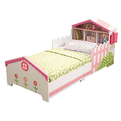KidKraft 76255 Kinderbett im Puppenhaus-Stil aus Holz für Kleinkinder Möbel für Kinderzimmer - 2