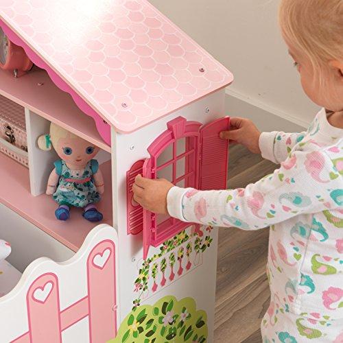 KidKraft 76255 Kinderbett im Puppenhaus-Stil aus Holz für Kleinkinder Möbel für Kinderzimmer - 6