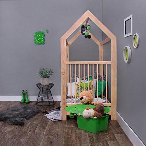 KAGU 5906395798506 Kinder Innovatives und Abenteuerbett Hausbett für jedes Kinderzimmer, beige - 2