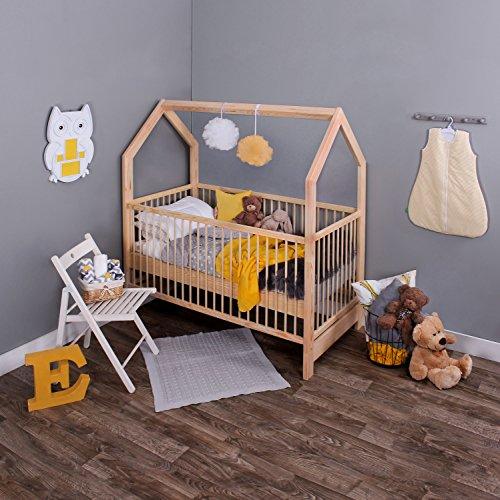 KAGU 5906395798506 Kinder Innovatives und Abenteuerbett Hausbett für jedes Kinderzimmer, beige - 3