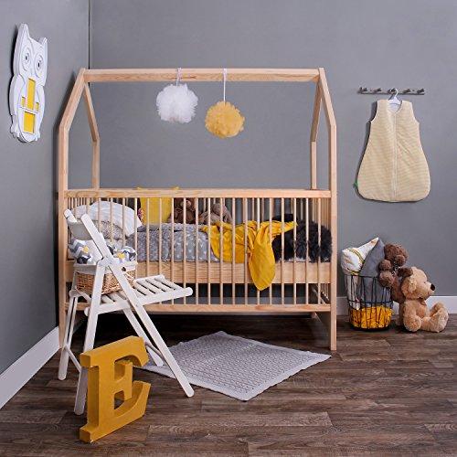 KAGU 5906395798506 Kinder Innovatives und Abenteuerbett Hausbett für jedes Kinderzimmer, beige - 4