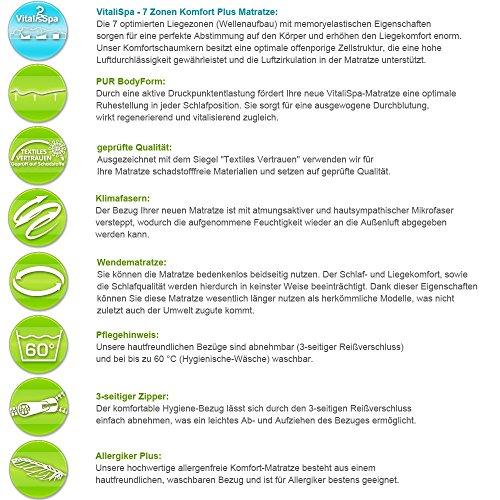 Vicco Kinderbett Wiki 90x200 Hausbett Grau Kinderhaus Bett Kinder Holz Haus Schlafen Spielbett Inkl. Lattenrost und 7-Zonen Kaltschaummatratze, lackiertes Massivholz - 7