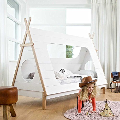 Pharao24 Tipi Kinderbett aus Kiefer