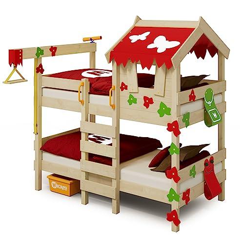 WICKEY CrAzY Ivy Spielbett für 2 Kinder Baumhausbett