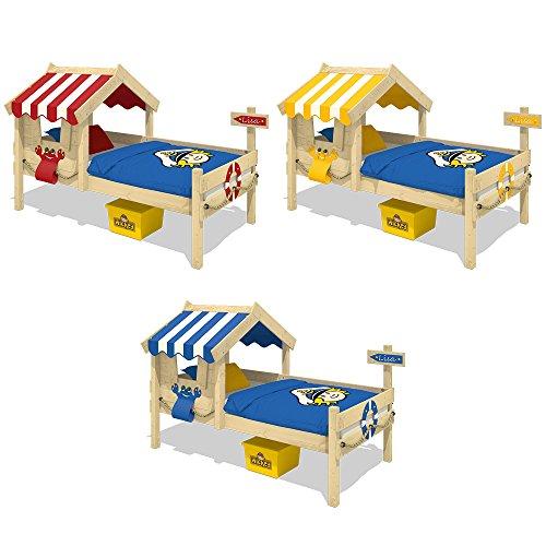 WICKEY Kinderbett CrAzY Sharky Einzelbett 90x200cm Abenteuerbett mit Lattenboden, blau - 5