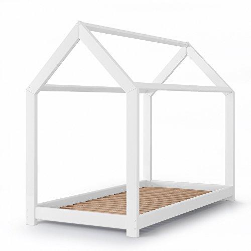 Vicco Kinderbett Massivholz weiß
